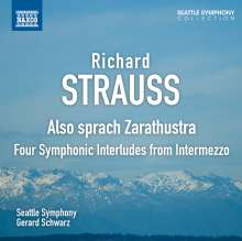 Richard Strauss (1864-1949): Also sprach Zarathustra op.30, CD