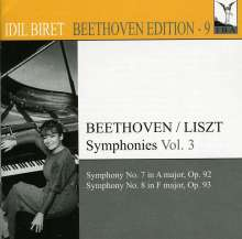 Idil Biret - Beethoven Edition 9/Symphonien Vol.3, CD