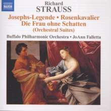 Richard Strauss (1864-1949): Der Rosenkavalier-Suite, CD