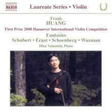 Frank Huang - Violin Fantasies, CD