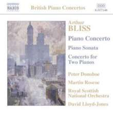 Arthur Bliss (1891-1975): Klavierkonzert, CD