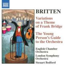 Benjamin Britten (1913-1976): Variations on a Theme of Frank Bridge op.10, CD