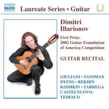 Dimitri Illarionov - Guitar Recital, CD