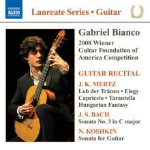 Gabriel Bianco - Guitar Recital, CD