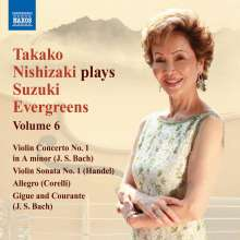 Takako Nishizaki - Suzuki Evergreens Vol.6, CD