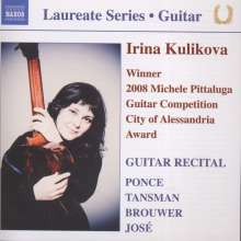Irina Kulikova - Guitar Recital, CD