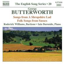 George Butterworth (1885-1916): Lieder, CD