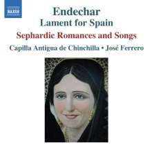 Endechar - Sephardic Romances and Songs, CD