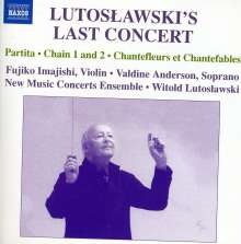 Witold Lutoslawski (1913-1994): Lutoslawski's Last Concert, CD