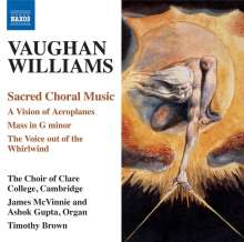 Ralph Vaughan Williams (1872-1958): Choral Music, CD