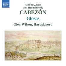 Antonio de Cabezon (1500-1566): Cembalowerke, CD