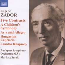Eugene Zador (1894-1977): A Children's Symphony, CD