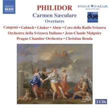 Francois-Andre Danican Philidor (1726-1795): Carmen Saeculare, 2 CDs