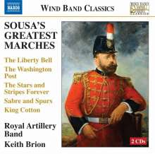 John Philip Sousa (1854-1932): Sousa's Greatest Marches, 2 CDs