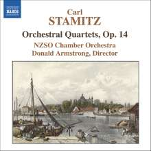 Carl Stamitz (1745-1801): Orchesterquartette op.14 Nr.1,2,4,5, CD