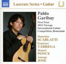 Pablo Garibay - Guitar Recital, CD