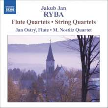 Jan Jakub Ryba (1765-1815): Flötenquartette in C,F,a, CD