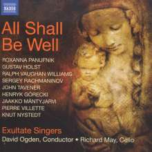 Exultate Singers - All Shall Be Well, CD