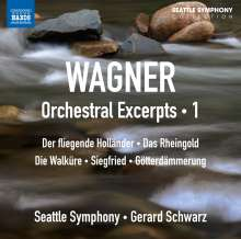 Richard Wagner (1813-1883): Orchestral Excerpts Vol.1, CD