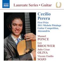 Cecilio Perera - Guitar Recital, CD