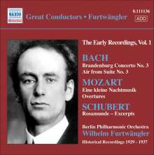 Furtwängler - The Early Recordings Vol.1, CD