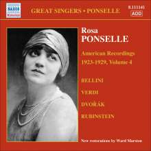 Rosa Ponselle - American Recordings Vol.4, CD