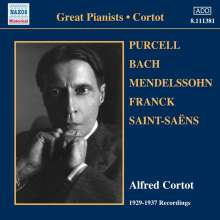 Alfred Cortot - 1929-1937 Recordings, CD