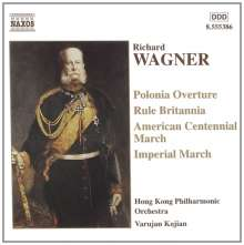 Richard Wagner (1813-1883): Märsche & Ouvertüren, CD