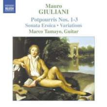 Mauro Giuliani (1781-1829): Gitarrenwerke, CD