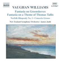 Ralph Vaughan Williams (1872-1958): Fantasia on a Theme by Tallis, CD