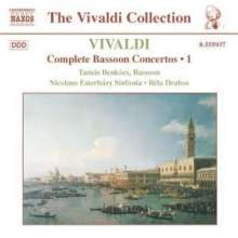 Antonio Vivaldi (1678-1741): Fagottkonzerte Vol.1, CD