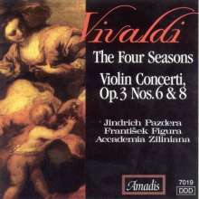Vivaldi / Pazdera / Fig: Four Seasons / Concerti Op 3 N, CD
