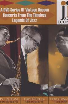 Jazz Icons Series 2, 8 DVDs