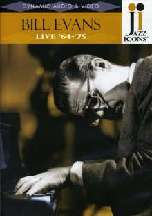 Bill Evans (Piano) (1929-1980): Live '64 - '75 (Jazz Icons), DVD