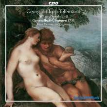 Georg Philipp Telemann (1681-1767): 47 Generalbass-Lieder (1735), CD