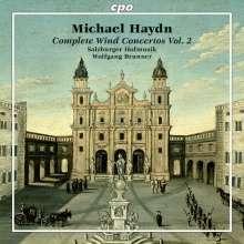 Michael Haydn (1737-1806): Sämtliche Bläserkonzerte Vol.2, CD