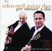 Eden-Stell Guitar Duo - Per Suonare A Due, CD