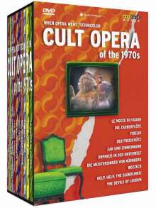 Cult Opera of the 1970s (When Opera went Technicolor), 11 DVDs
