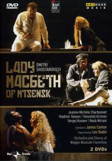 Dimitri Schostakowitsch (1906-1975): Lady Macbeth von Mtsensk, 2 DVDs