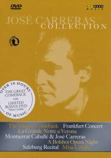 Jose Carreras Collection (Box), 7 DVDs