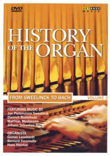 History of the Organ Vol.2 - From Sweelinck to Bach, DVD