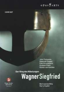 Richard Wagner (1813-1883): Siegfried, 3 DVDs