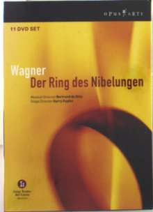 Richard Wagner (1813-1883): Der Ring des Nibelungen, 11 DVDs