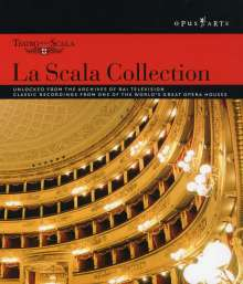La Scala Collection (DVD-Box), 12 DVDs