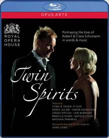 Robert Schumann (1810-1856): Twin Spirits - Portraying the Love of Robert & Clara, Blu-ray Disc