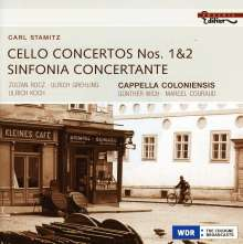 Carl Stamitz (1745-1801): Cellokonzerte Nr.1 & 2, CD