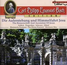 Carl Philipp Emanuel Bach (1714-1788): Carl Philipp Emanuel Bach Edition, 2 CDs