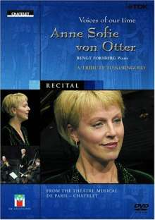 Anne Sofie von Otter: Voices Of Our Time: Tribute To, DVD