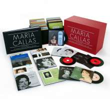 Maria Callas - Sämtliche Studioaufnahmen Remastered