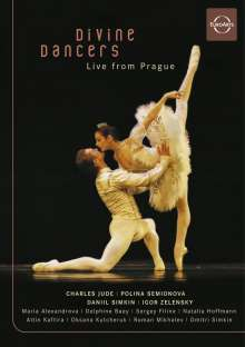 Divine Dancers - Live from Prague, DVD